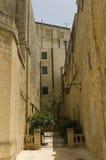 Vieille route de Malte Photos stock
