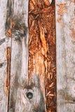 Vieille route en bois Image libre de droits