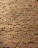 Vieille route en pierre Photo stock