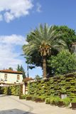Vieille rue à Antalya photo stock