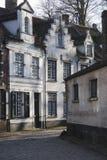 Vieille rue à Bruges Photo libre de droits