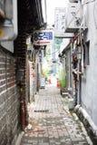 Vieille rue photo stock
