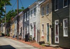 Vieille rue 4 d'Annapolis photos stock