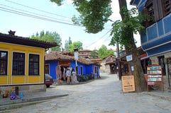 Vieille rue dans Koprivshtitsa Bulgarie Photo stock
