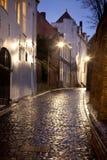 Vieille rue dans la ville hollandaise Nimègue Photo libre de droits