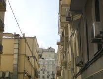 Vieille rue de bâtiments Image libre de droits