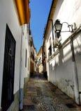 Vieille rue de Cordoue Image libre de droits