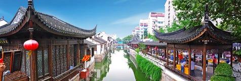 Vieille rue de la Chine Image libre de droits