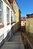 Vieille rue de Tallinn Photographie stock libre de droits