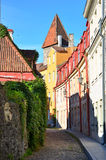 Vieille rue de Tallinn Photos stock