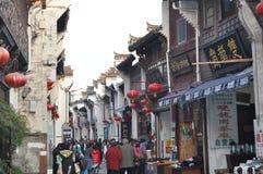 Vieille rue 3 de Tunxi Photo libre de droits