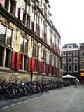 Vieille rue de ville Photos stock
