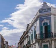 Vieille rue de ville dans le Las Palmas sur mamie Canaria Photo libre de droits