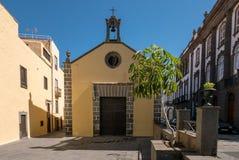 Vieille rue de ville dans le Las Palmas sur mamie Canaria Photos stock