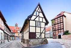 Vieille rue en Allemagne Photos libres de droits