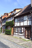 Vieille rue en Allemagne Image libre de droits