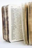 Vieille série de dictionnaire Photos stock