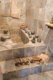 Vieille salle de bains de marbre (1) Photos libres de droits