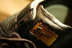 Vieille scène de chaussure de sport Photos stock