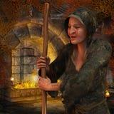 Vieille sorcière Image libre de droits