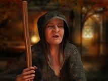 Vieille sorcière Photographie stock libre de droits