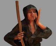Vieille sorcière Photos stock
