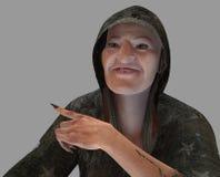 Vieille sorcière Photos libres de droits