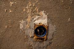 Vieille sortie électrique photo libre de droits