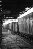 Vieille station de train photos stock