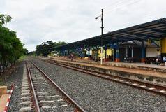 Vieille station de train chez Buri Ram Image stock