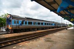 Vieille station de train chez Buri Ram Photo stock