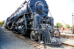 Vieille station de train de Sacramento de ville Photo stock