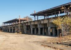 Vieille station de train photographie stock libre de droits