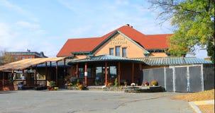 Vieille station des syndicats à Northampton dans le Massachusetts photos libres de droits