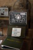 Vieille station météorologique africaine de bureau Photo libre de droits