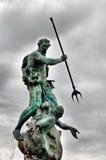 Vieille statue photo stock