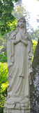Vieille statue photographie stock