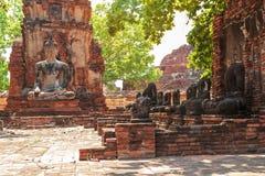 Vieille statue de Bouddha Photographie stock