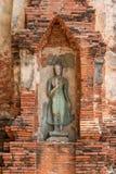 Vieille statue de Bouddha Photo libre de droits