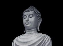 Vieille statue de Bouddha de portrait Photo libre de droits