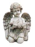 Vieille statue de cupidon Image stock
