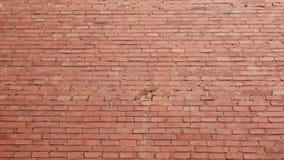 Vieille surface de mur de briques rouge comme fond clips vidéos