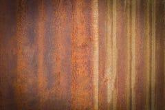 Vieille surface de zinc, résumé pour le fond photographie stock libre de droits
