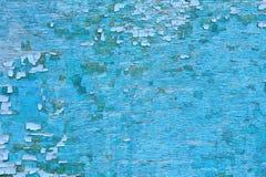 Vieille surface en bois peinte Images libres de droits