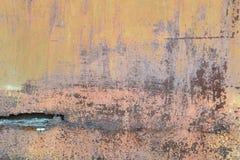 Vieille surface métallique de fond Image stock
