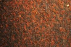 Vieille surface métallique montrant la rouille Photographie stock