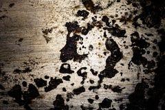 Vieille surface métallique sale pour le fond toned Photographie stock