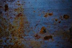 Vieille surface métallique sale pour le fond toned photo libre de droits