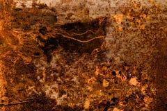 Vieille surface métallique sale pour le fond toned Image stock