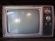 Vieille télévision image stock
